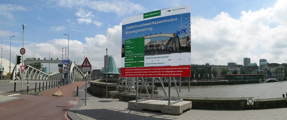 Koninginnebrug gesloten