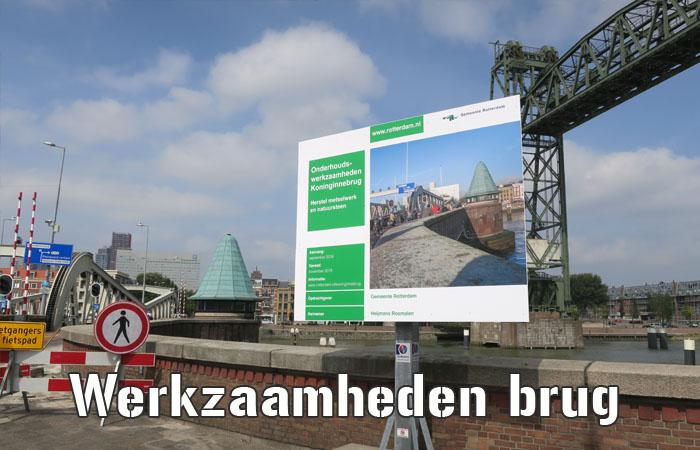 Onderhoudswerkzaamheden aan de Koninginnebrug