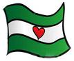 Noordereiland Vlag